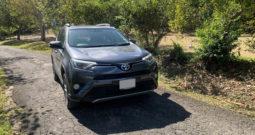 Used 2017 Toyota Rav4 Hybrid Dark Grey